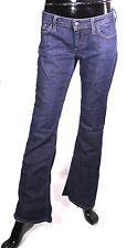 GJ6-54 Meltin Pot Nicole Damen Bootcut Jeans blau W24 L32 low rise Stretch
