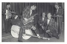 Nostalgia Postcard Bill Haley and The Comets 1957 Reproduction Card NS58