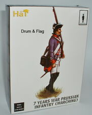 HaT 9401 Prussian Infantry Marching 1/32 Scale X 18 Figs Seven 7 Years War
