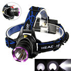 Camping Hunting Hiking 5000Lm 3x XM-L T6 LED Headlamp Headlight Head Torch 18650