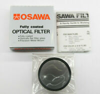 Osawa 49mm Polarizer Optical Lens Filter PL with Box - New Old Stock - C981