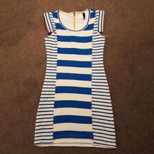 Unbranded Stripes Regular Dresses Bodycon Dress