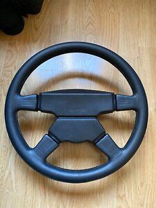 AMG MOMO Steering Wheel Rare W124 W126 560Sec 500E 300CE 190e W201 Mercedes-Benz