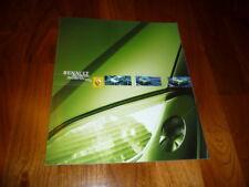Renault Scenic Prospekt 08/2001