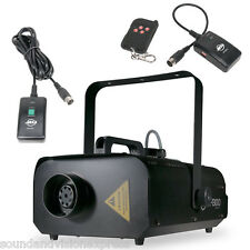 American DJ ADJ VF1300 Profesional 1300W Máquina De Humo Niebla Fogger + 2 x mandos a distancia