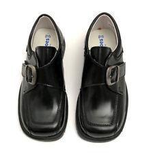 PETIT SHOES OF SPAIN NEW BLACK PATENT LEATHER MONK STRAP BOYS DRESS SHOES SZ.9½