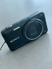 Sony Cyber-shot DSC-WX80 16.2MP Digital Camera - Black