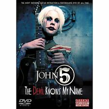 John 5 The Devil Knows My Name Guitar DVD Instructional Lesson NEW Manson Zombie
