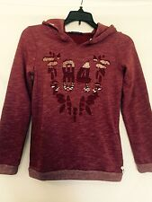 Scotch R'Belle Light Burgundy SweatShirt.NWT Age 10 Retail $99 Price $39