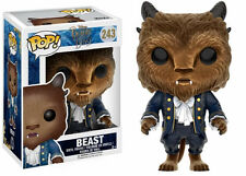 Beauty & The Beast Movie Limited Edition FLOCKED Beast Funko Pop! #243