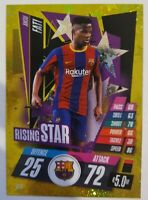 2020/21 Match Attax UEFA Champions League - Ansu Fati Rising Star Barcelona