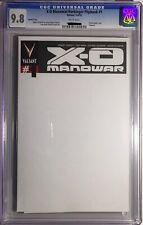 X-O Manowar Harbinger Flipbook #1 CGC 9.8