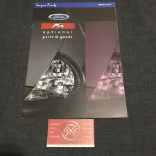 Ford Ka Brochure Catalog Japanese Rare 96 97 98 99 00 01 02 03 KA2 KA3 Prospekt