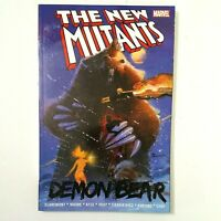 NEW MUTANTS: Demon Bear (TPB, 2018) Marvel Comics Chris Claremont FREE SHIPPING