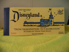 Disneyland From Imagination To Celebration 50 Years Of Theme Park Magic Book