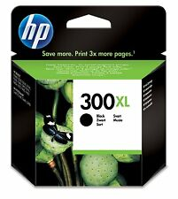 HP 300 XL 300xl CC641EE BLACK INK CARTRIDGE
