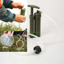Portable Soldier Clean Water Filter Purifier F Hiking Camping Travel Backpacking