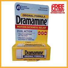 Dramamine Motion Sickness Tablets - 12 Tablets