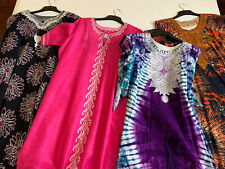 4 X Ladies Long  African Kaftan/ Dresses Traditional Outfit