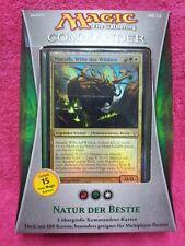 GERMAN Magic MTG 2013 Commander C13 Sealed Nature of the Beast Deck Gathering