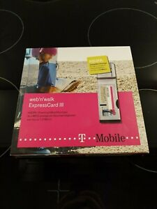 Web'n'Walk Express Card III T-Mobile mit Box HSDPA UMTS Modem PCI Express