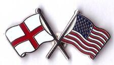 england united staes of america USA frendship lapel badge united kingdom