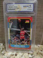 1996-1997 Fleer #4 Michael Jordan Decade of Excellence GEM MINT 10