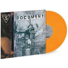 R.E.M. DOCUMENT LIMITED GOLD COLORED VINYL