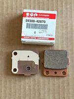Suzuki Genuine, REAR BRAKE PADS, P/N 59300-42870