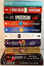 Lot Of 10 Books Best Sellers Suspense Thriller Romance Novels Paperback
