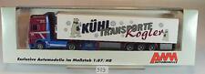 AWM 1/87 71340 DAF 95xf autoarticolati trasporti di raffreddamento Kogler OVP #979