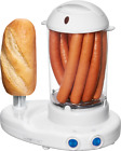 Clatronic Hot-Dog-Maker HDM 3420 EK N weiß, Hot-Dog-& Eierkocher in Einem, NEU