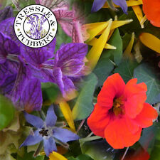 Rare  Annual Edible Flowers annual flowers mixed seeds UK SELLER