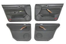 VW Golf 4 Kombi Türverkleidung Verkleidung Tür vorne hint links rechts schwarz l