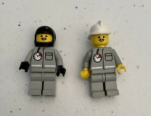 Lego Classic Fireman Firefighter Minifigures Town City Vintage 6340 6554 6571