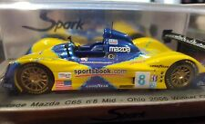 SPARK1/43 Courage Mazda C65 No.8 Mid-Ohio 2005 Winner Class S0136
