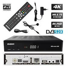 Edision OS Mini 4K UHD Sat Receiver DVB-S2X E2 Linux HEVC LAN USB Multi Stream