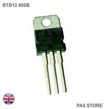 1x BTB12 600B Triac 12A 600W  TO220 - ST Microelectronics