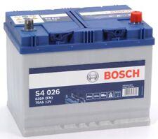 0092S40260 Batteria Auto Bosch S4 026 EN 630A 70 Ah Ampere 12V Pronto Uso