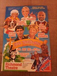 RICHMOND THEATRE flyer DICK WHITTINGTON