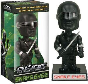 Funko Wacky Wobbler Bobble  G.I.Joe The Rise of Cobra Snake Eyes