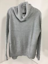 BOOHOO WOMEN'S LUCY ROLL NECK SOFT KNIT JUMPER GRAY S/M NWT