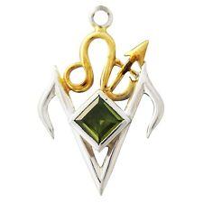 Talisman Release Negativity Sterling Silver Peridot Pendant Libera by Briar
