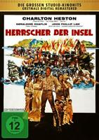 Heston, Charlton - Herrscher der Insel - Kinofassung DVD NEU OVP