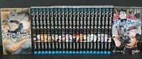 JAPAN Yuki Tabata manga LOT: Black Clover vol.1~24 Set