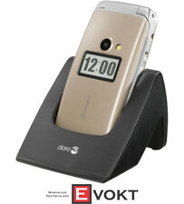 DORO Primo 413, senior cell phone, 2.4 inches, gold