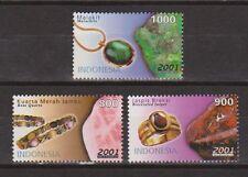 Indonesia Indonesie 2212-2214 MNH Afbeeldingen Edelstenen 2001