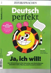 Deutsch perfekt, Heft 01/2021:Glück - Ja, ich will!  + +wie neu ++