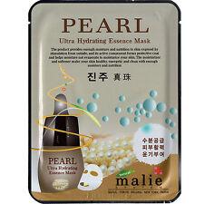 10 PCS Pearl Korean Essence Facial Mask Sheet Moisture Face Mask Pack Skin Care