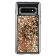 Case-Mate Samsung Galaxy S10 Waterfall Gold Case